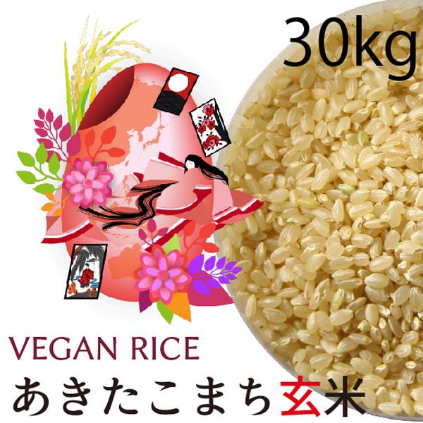 あきたこまち玄米30㎏